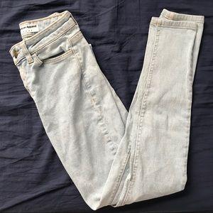 American apparel pencil easy skinny jeans sz 26